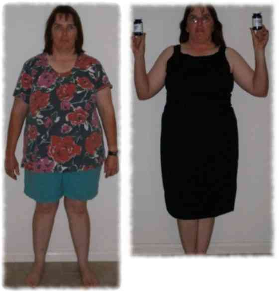 Woman losing